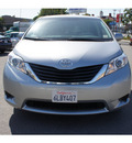 toyota sienna 2011 silver van le 8 passenger gasoline 6 cylinders front wheel drive automatic 90004