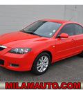 mazda mazda3 2008 red sedan i sport gasoline 4 cylinders front wheel drive 5 speed manual 98371