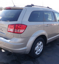 dodge journey 2009 gold suv se gasoline 4 cylinders front wheel drive automatic 14224