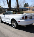 ford mustang 1997 white gt v8 automatic with overdrive 80110