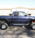 dodge ram pickup 1500 1998 dark purple flame laramie slt 4x4 v8 automatic 80012