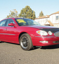 buick lacrosse 2005 red sedan cxl v6 leather 6 cylinders automatic 80012