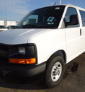 chevrolet express 2012 white van ls 3500 8 cylinders automatic 60007