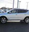 nissan murano 2009 silver suv le 6 cylinders automatic 46410