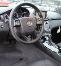cadillac cts v 2012 black coupe gasoline 8 cylinders rear wheel drive automatic 76087