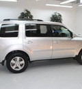 honda pilot 2011 silver suv ex l w dvd gasoline 6 cylinders 2 wheel drive automatic 91731