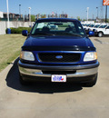 ford f 150 1997 blue pickup truck xlt gasoline v8 rear wheel drive automatic with overdrive 76108