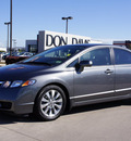 honda civic 2009 dk  gray sedan ex l w navi gasoline 4 cylinders front wheel drive automatic 76018