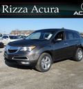 acura mdx 2012 dk  gray suv awd gasoline 6 cylinders all whee drive automatic with overdrive 60462