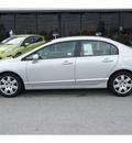 honda civic 2010 silver sedan lx gasoline 4 cylinders front wheel drive automatic 77388