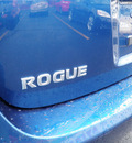 nissan rogue 2009 blue suv gasoline 4 cylinders all whee drive automatic 19153