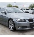bmw 3 series 2008 gray coupe 335i gasoline 6 cylinders rear wheel drive automatic 77090