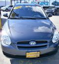 hyundai accent 2011 gray hatchback gasoline 4 cylinders front wheel drive automatic 13502