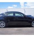 lexus is 250 2007 black sedan gasoline 6 cylinders rear wheel drive automatic 33157