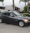 bmw 3 series 2007 dk  gray sedan 328i gasoline 6 cylinders rear wheel drive automatic 91010