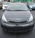 kia rio 2012 platinum graphite sedan ex gasoline 4 cylinders front wheel drive automatic 19153