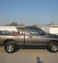 dodge ram pickup 1500 2002 gray pickup truck st gasoline 6 cylinders rear wheel drive 5 speed manual 62863