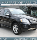 mercedes benz m class 2009 black suv ml350 4matic gasoline 6 cylinders all whee drive automatic 27616