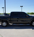 ford f 150 2010 black xlt gasoline 8 cylinders 2 wheel drive automatic 76087