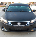 honda accord 2010 black coupe lx s gasoline 4 cylinders front wheel drive automatic 77065