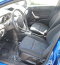 ford fiesta 2011 blue hatchback ses gasoline 4 cylinders front wheel drive automatic 91010