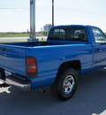 dodge ram pickup 1500 2001 blue pickup truck gasoline 6 cylinders rear wheel drive automatic with overdrive 76087