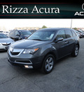 acura mdx 2012 dk  gray suv tech awd gasoline 6 cylinders all whee drive automatic with overdrive 60462