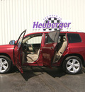 toyota highlander 2009 salsa red suv limited gasoline 6 cylinders all whee drive automatic 80905
