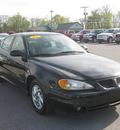 pontiac grand am 2004 black sedan se2 gasoline 6 cylinders front wheel drive automatic 62863