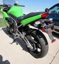 kawasaki ninja 2009 green 650r 2 cylinders 5 speed 45342