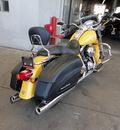 harley davidson flhrs 2007 yellow road king custom 2 cylinders 5 speed 45342