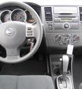 nissan versa 2012 blue hatchback s gasoline 4 cylinders front wheel drive automatic 33884