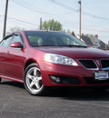 pontiac g6 2009 red sedan gt flex fuel 6 cylinders front wheel drive shiftable automatic 61832