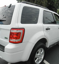 ford escape 2012 white suv xlt flex fuel 6 cylinders front wheel drive automatic 34474