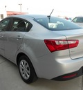 kia rio 2012 silver sedan lx gasoline 4 cylinders front wheel drive not specified 43228