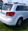 dodge journey 2009 white suv se gasoline 4 cylinders front wheel drive automatic 14224