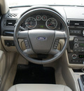 ford fusion 2008 blue sedan sel gasoline 6 cylinders front wheel drive automatic 76087