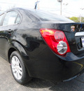 chevrolet sonic 2012 black sedan lt gasoline 4 cylinders front wheel drive automatic 60007