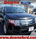 ford edge 2010 black suv se gasoline 6 cylinders front wheel drive automatic 08753