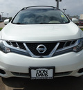 nissan murano 2011 white sv gasoline 6 cylinders front wheel drive automatic with overdrive 76018