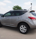 nissan murano 2011 lt  gray sl gasoline 6 cylinders all whee drive automatic with overdrive 76018