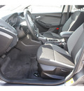ford focus 2012 gray hatchback se flex fuel 4 cylinders front wheel drive 6 speed automatic 77388