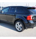 ford edge 2012 black suv sel gasoline 6 cylinders front wheel drive shiftable automatic 77388