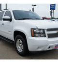 chevrolet tahoe 2007 white suv lt gasoline 8 cylinders rear wheel drive automatic 77090