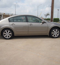 nissan maxima 2006 beige sedan 3 5 sl gasoline 6 cylinders front wheel drive automatic 75228