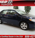 toyota corolla 2012 blue sedan le gasoline 4 cylinders front wheel drive not specified 91731