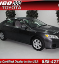 toyota camry 2010 dk  gray sedan le gasoline 4 cylinders front wheel drive automatic 91731