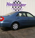 toyota camry 2003 catalina blue sedan le gasoline 4 cylinders front wheel drive automatic 80905