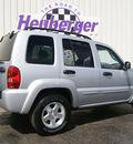 jeep liberty 2002 bright silver suv limited gasoline v6 4 wheel drive automatic 80905