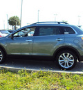 mazda cx 9 2012 gray suv grand touring gasoline 6 cylinders front wheel drive automatic 32901